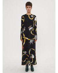 Marni - Cracker Jack Sable Dress In Black - Lyst