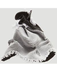 Issey Miyake - Orbit Ram Knit Hat In Grey - Lyst
