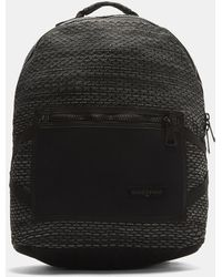 Eastpak - Padded Pak'r Dark Twine Backpack In Dark Grey - Lyst