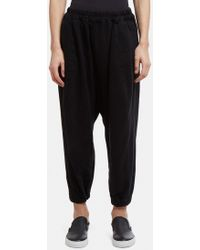 Anntian - Flat Pants In Black - Lyst