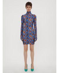 Vetements - Floral Mini Dress - Lyst