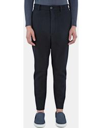 Mohsin - Men's Forest Wool Pants In Black - Lyst
