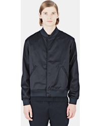 Maxwell Snow | Men's Sateen Jacket In Black | Lyst