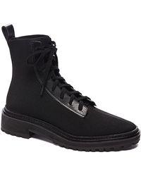 Loeffler Randall - Brady Stretch Knit Combat Boots - Lyst