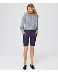 LOFT - Petite Riviera Shorts With 9 Inch Inseam In Marisa Fit - Lyst