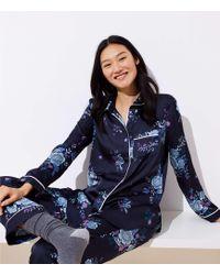 LOFT - Floral Pyjama Set - Lyst