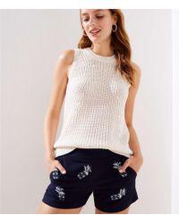 LOFT - Pineapple Shorts - Lyst