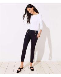LOFT - Petite Skinny Sailor Pants In Marisa Fit - Lyst