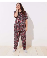 LOFT - Plus Primrose Pajama Set - Lyst