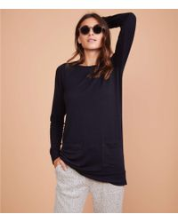 LOFT - Lou & Grey Signaturesoft Pocket Tunic Top - Lyst