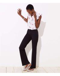 LOFT - Trousers In Custom Stretch In Marisa Fit - Lyst
