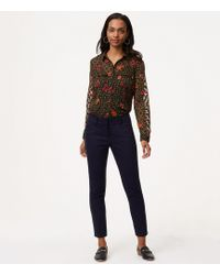 LOFT - Tall Skinny Ankle Trousers In Julie Fit - Lyst