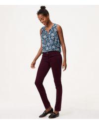 LOFT | Tall Modern Skinny Corduroy Pants | Lyst