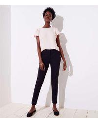 LOFT - Tall Skinny Trousers In Marisa Fit - Lyst