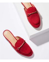 LOFT - Loafer Slides - Lyst