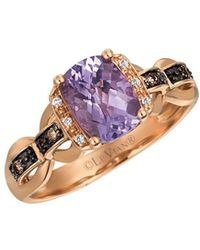 Le Vian - Chocolatier Grape Amethyst And 14k Strawberry Gold Ring - Lyst