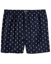 b750acfd2c8220 Polo Ralph Lauren All Over Pony Player Woven Boxer in Black for Men ...
