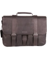 Kenneth Cole Reaction - Double Gusset Messenger Bag - Lyst