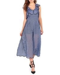 Kendall + Kylie - Ruffle Jumpsuit - Lyst