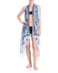 Theodora & Callum - Tie-dyed Kimono Coverup - Lyst