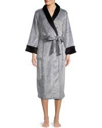 N Natori - Frosted Fleece Robe - Lyst