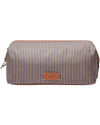 Fossil - Striped Canvas Shave Kit - Lyst