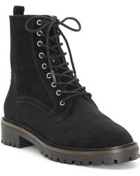 Lucky Brand - Idara Lace-up Bootie - Lyst