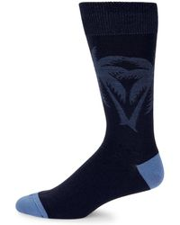 Tommy Bahama - Palm-print Textured Crew Socks - Lyst