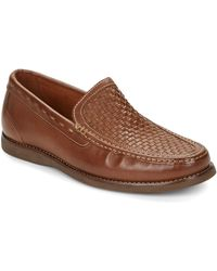 Tommy Bahama - Brooks Bay Leather Loafers - Lyst