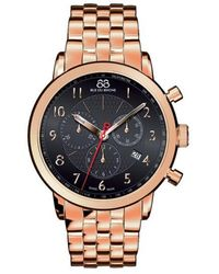 88 Rue Du Rhone - Men's Double 8 Origin Rose Gold Chronograph Watch - Lyst