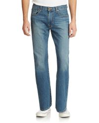 Lucky Brand - 181 Relaxed Straight Dellwood Wash Jeans - Lyst