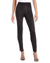Two By Vince Camuto - Faux-suede Front Leggings - Lyst