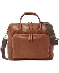 Fossil - Carson Leather Briefcase0202-mbg9231 - Lyst