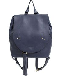 Sanctuary - Day-2-day Leather Backpack - Lyst