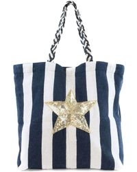 Circus by Sam Edelman - Cooper Self Handle Star Tote - Lyst
