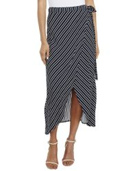 Bardot - Mali Striped Skirt - Lyst
