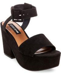 Lord & Taylor - Bazaar Platform Sandals - Lyst