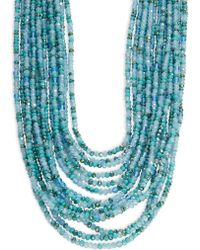 Nanette Lepore | Multi-row Beaded Necklace | Lyst