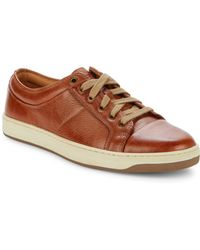 G.H. Bass & Co. - Randall Leather Lace-up Trainers - Lyst