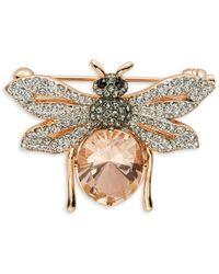 Nadri - Studded Bee Pin - Lyst