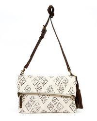 Lucky Brand - Luna Foldover Crossbody Bag - Lyst