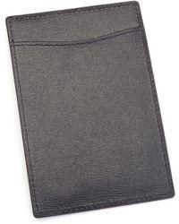 Royce - Leather Travel Passport Wallet - Lyst