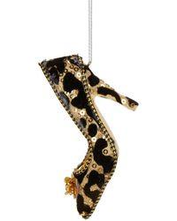 Lord & Taylor - Leopard Print Heel Ornament - Lyst