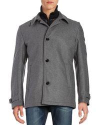 Strellson - Dereck Wool-blend Coat - Lyst