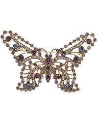 Anne Klein - Butterfly Pin - Lyst