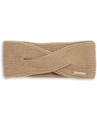 MICHAEL Michael Kors - Twisted Knit Convertible Headband - Lyst