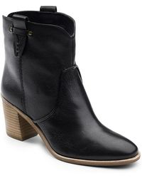 G.H.BASS - 'sophia' Pull-on Bootie - Lyst