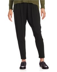 Eileen Fisher - Stretch Ankle Pants - Lyst