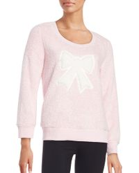 Roudelain - Faux Fur Graphic Sweatshirt - Lyst