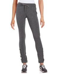 Steve Madden - Lace-up Jogger Trousers - Lyst